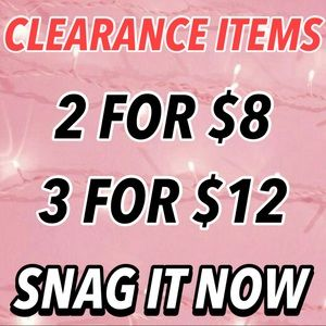 🔥CLEARANCE SALE🔥